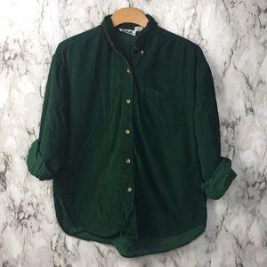 Vintage Class 955 Corduroy Formal Christmas Shirt
